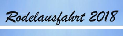 Rodelausfahrt 2018